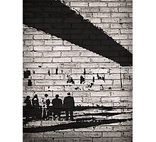 Team of Shadows | Person Of Interest Photographic Print