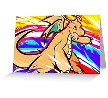 Dragonite | Outrage Greeting Card