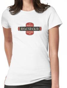 Vintage Rickenbacker Guitars 1964 Womens Fitted T-Shirt