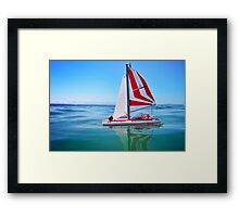 Just like that... Framed Print