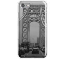 George Washington Bridge Traffic  iPhone Case/Skin