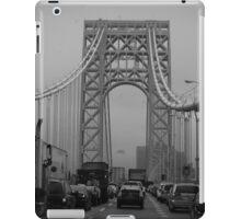 George Washington Bridge Traffic  iPad Case/Skin