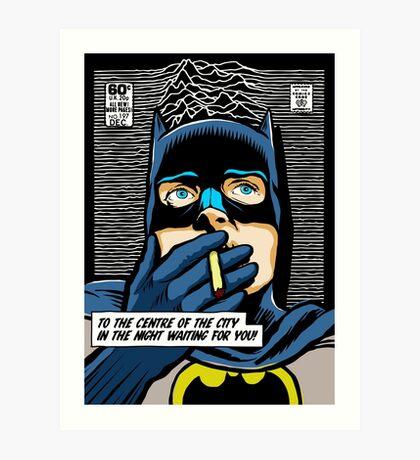 Post-Punk Heroes | Dark Art Print