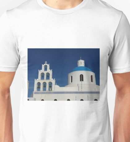 Bells and Blue Dome Unisex T-Shirt