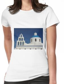 Bells and Blue Dome Womens Fitted T-Shirt