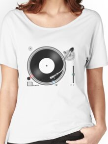 TURNTABLE Women's Relaxed Fit T-Shirt