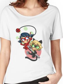 Ladybug and Chat Noir! Women's Relaxed Fit T-Shirt
