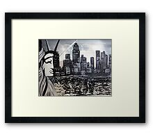 New York Escape Framed Print