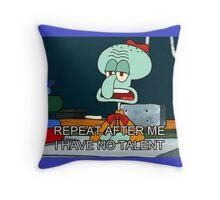 squidward Throw Pillow