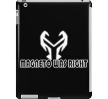 MAGNETO iPad Case/Skin