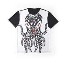 Tribal Cthulhu Graphic T-Shirt