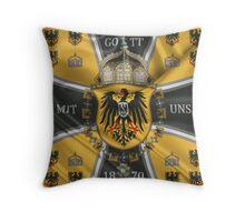 German Emperor Standard 1888-1918 Throw Pillow