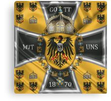 German Emperor Standard 1888-1918 Canvas Print