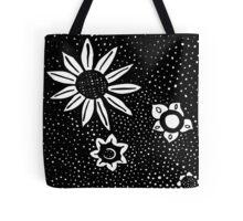 Flower Rain Tote Bag