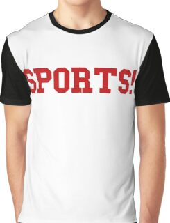 Sports - version 5 - red Graphic T-Shirt