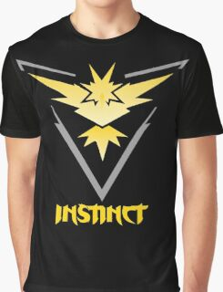 Team Instinct from Pokemon Go Graphic T-Shirt