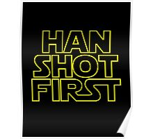 Han Shot First. Poster