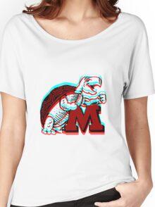 UMD -retro logo Women's Relaxed Fit T-Shirt