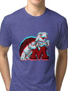 UMD -retro logo Tri-blend T-Shirt