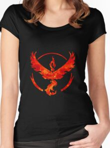 team red gear Women's Fitted Scoop T-Shirt