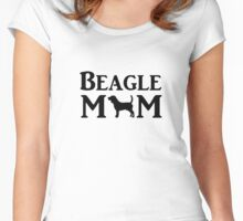 Beagle Mom Women's Fitted Scoop T-Shirt