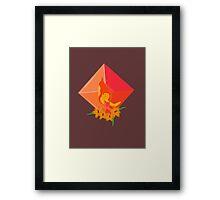 Flame Princess Framed Print