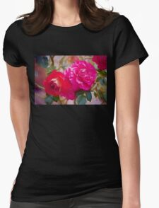 Rose 373 Womens Fitted T-Shirt