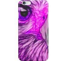Predator Stare (Purple) iPhone Case/Skin