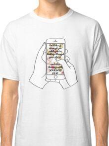 Phone - Somebody Else Classic T-Shirt
