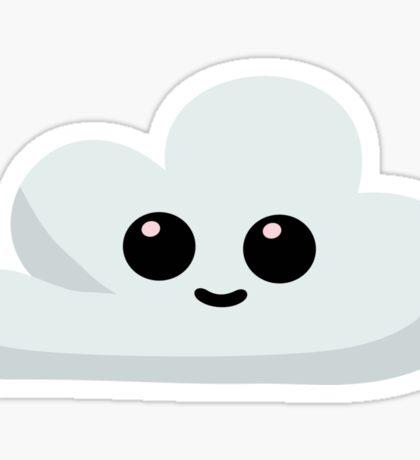 Happy Little Cloud Sticker