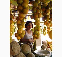 The Girl in the Santarem Brazil Market Unisex T-Shirt