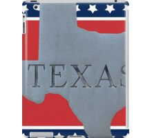 Welcome to the state of Texas iPad Case/Skin