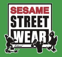 Sesame Street Wear One Piece - Short Sleeve