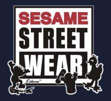Sesame Street Wear One Piece - Short Sleeve