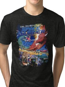 Space Harrier Tri-blend T-Shirt