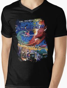 Space Harrier Mens V-Neck T-Shirt