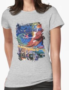 Space Harrier Womens Fitted T-Shirt