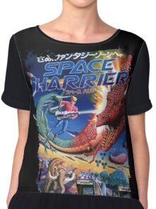 Space Harrier Chiffon Top