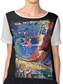 Space Harrier Chiffon Top