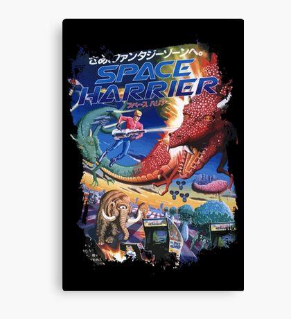 Space Harrier Canvas Print