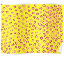 Simple Flowers   Shockingly Spunky Poster