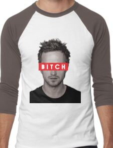 Jesse Pinkman - Bitch. Men's Baseball ¾ T-Shirt