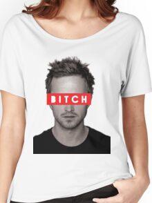 Jesse Pinkman - Bitch. Women's Relaxed Fit T-Shirt