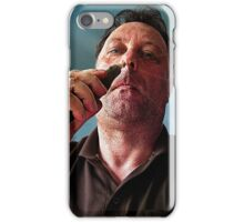 nose picker iPhone Case/Skin