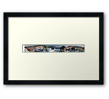 "Greece, Skopelos ""Kastro"" 360 Panorama Framed Print"
