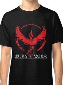 Team Valor (GoT + Pokemon GO!) Classic T-Shirt