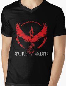 Team Valor (GoT + Pokemon GO!) Mens V-Neck T-Shirt