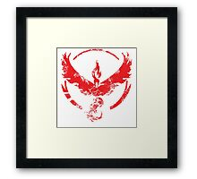 Team Valor (GoT + Pokemon GO!) Framed Print