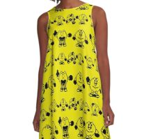 Pac-Man 2: The New Adventures A-Line Dress