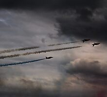 Red Arrows - Into the Storm by Scott Lyons